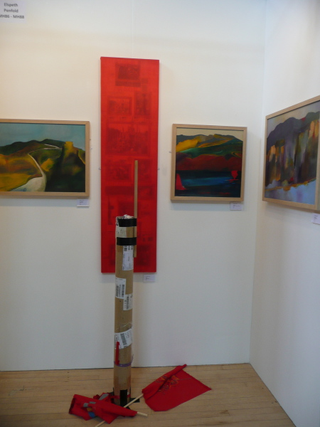 Totem, 2013, Parallax Art Fair, Chelsea Town Hall