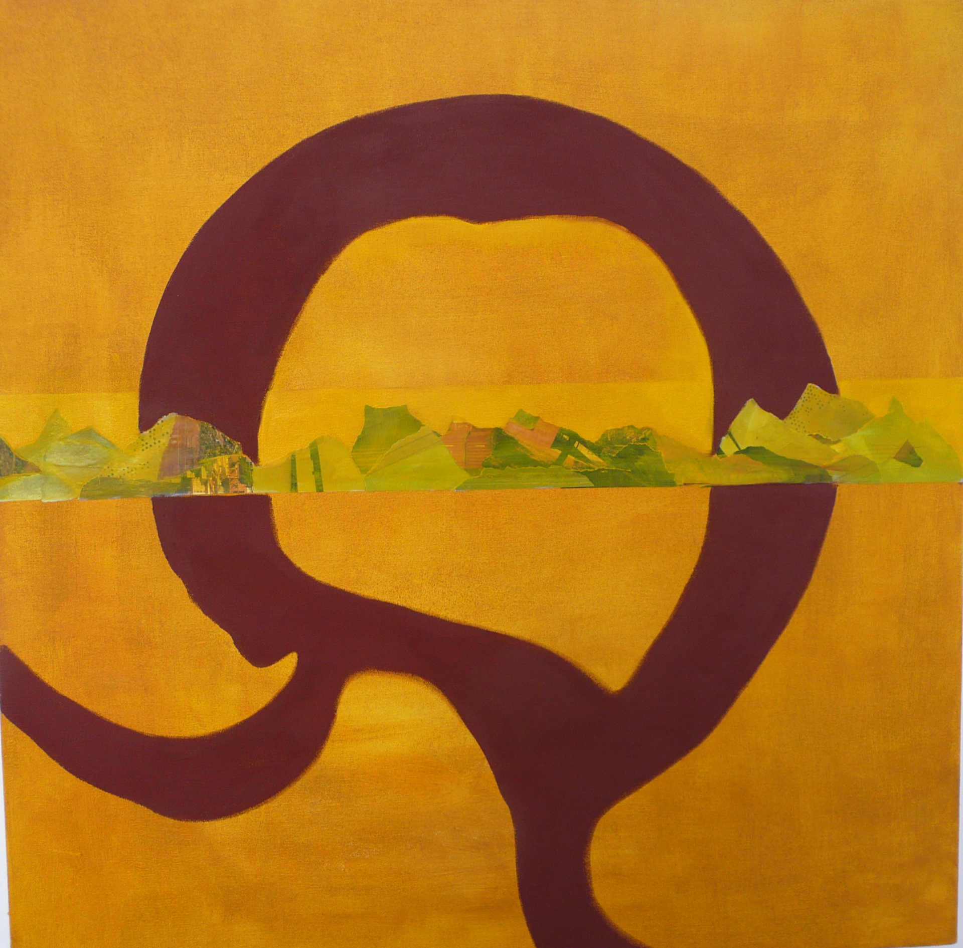 Rumbo ,2011, in a private collection