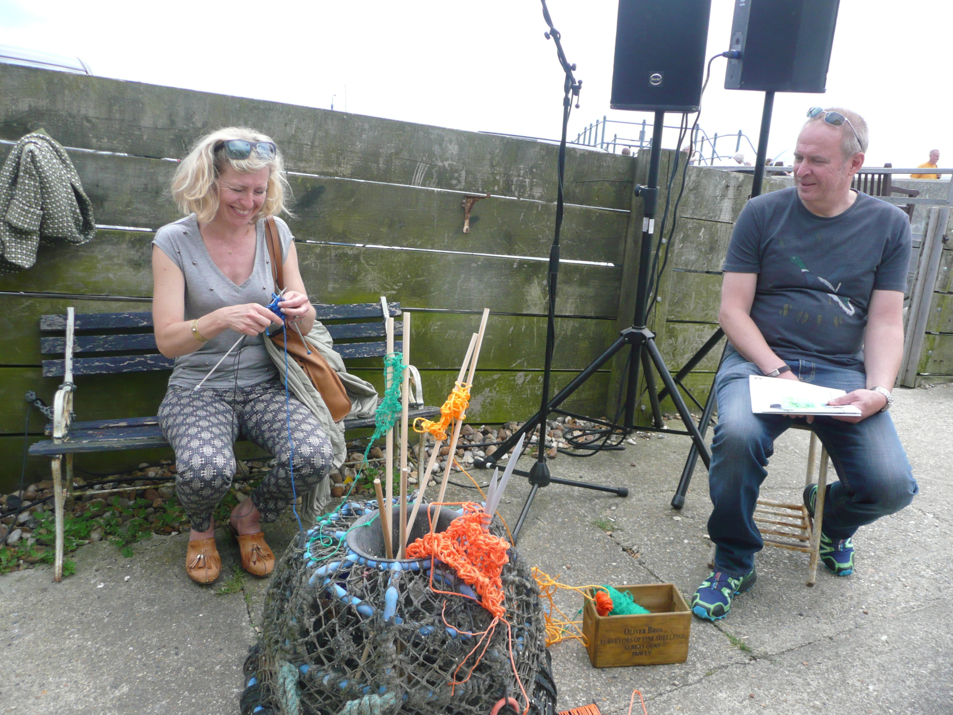 Knitting Jam, 2014, Whitstable Biennale Satellite program