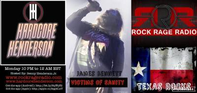 HARDCORE HENDERSON #076  JAMES BENNETT-VICTIMS OF SANITY