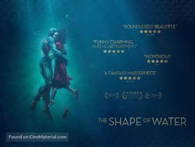 THE SHAPE OF WATER; MOVIE REVIEW