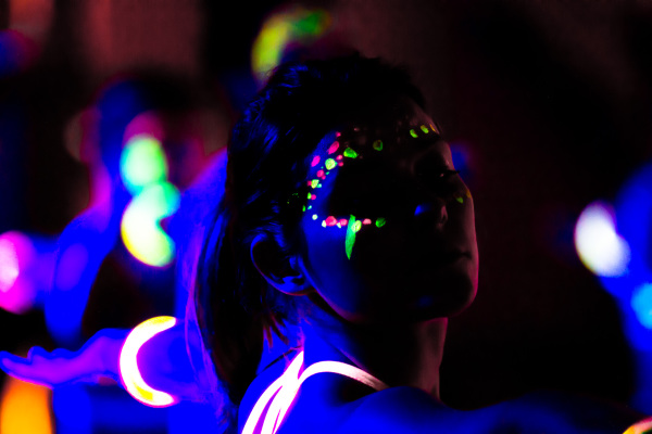 flow in the dark london, flow in the dark, pop up yoga