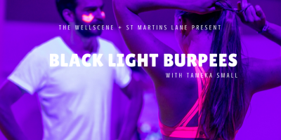 Fri 29 Sep: Black Light Burpees [with Tameka Small]