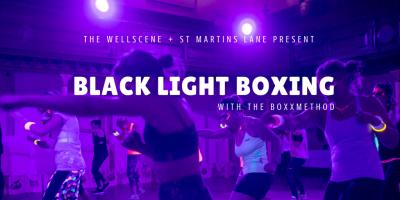 Fri 27 Oct: Black Light Boxing [with The BoxxMethod]