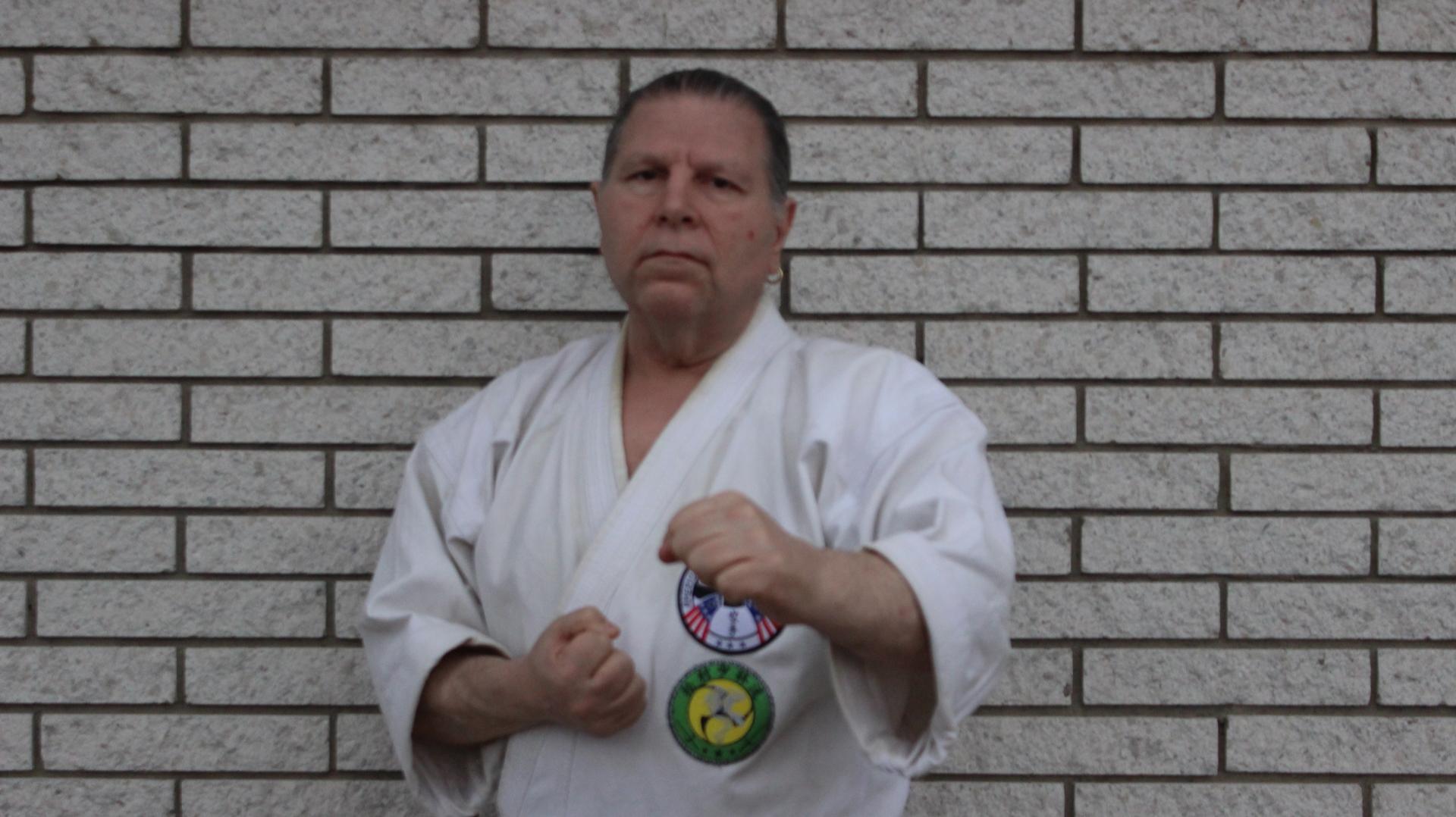 Sensei Gary Sass Karate Weapons Bo Sai Matsumura Shorinryu
