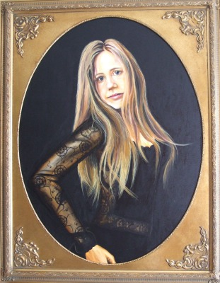 Portrait 71 x 101 cm - oil on canvas
