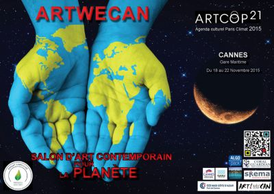 ArtWeCan Exhibition, Cannes, France