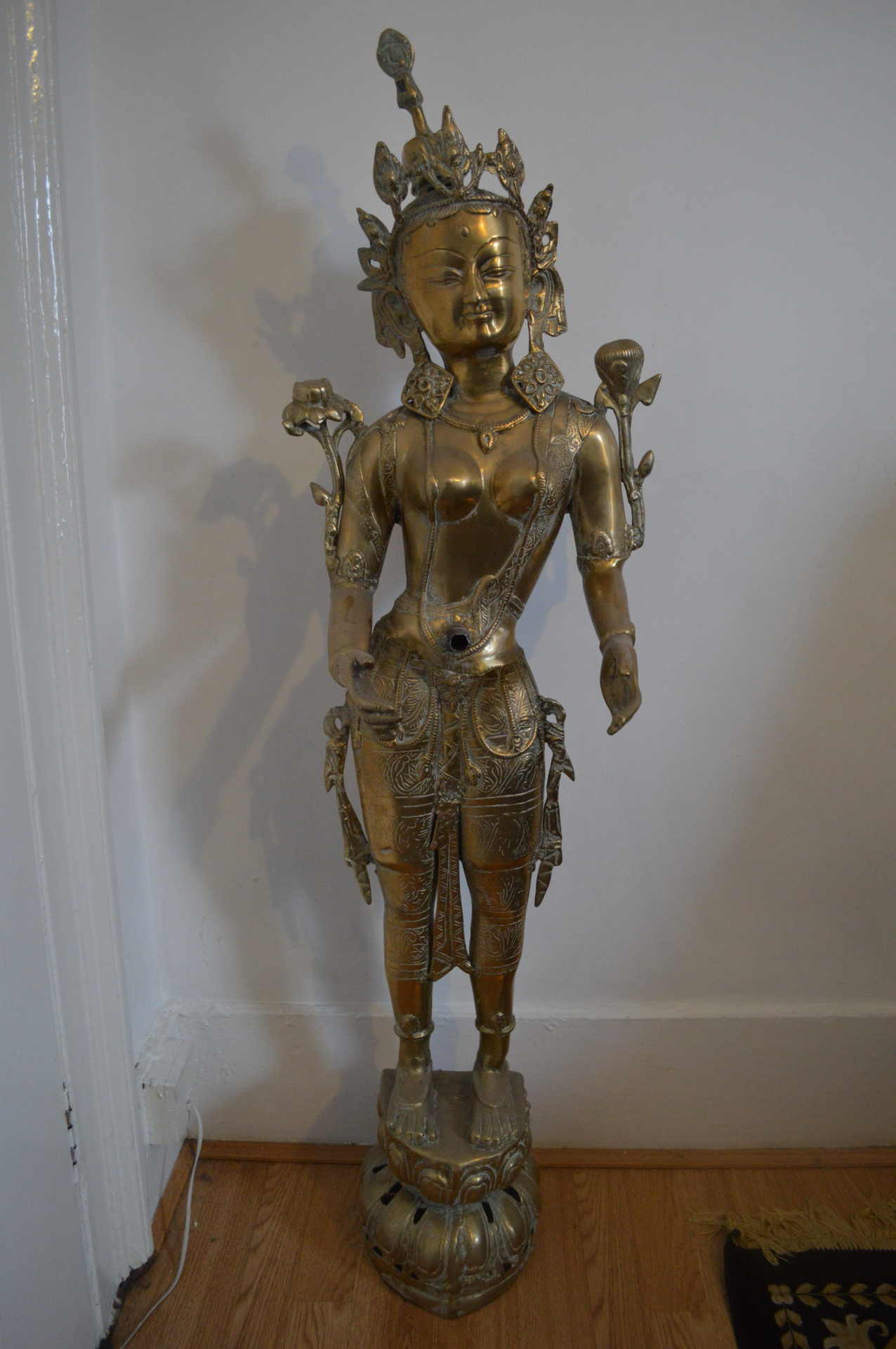 Brass Indian Lady