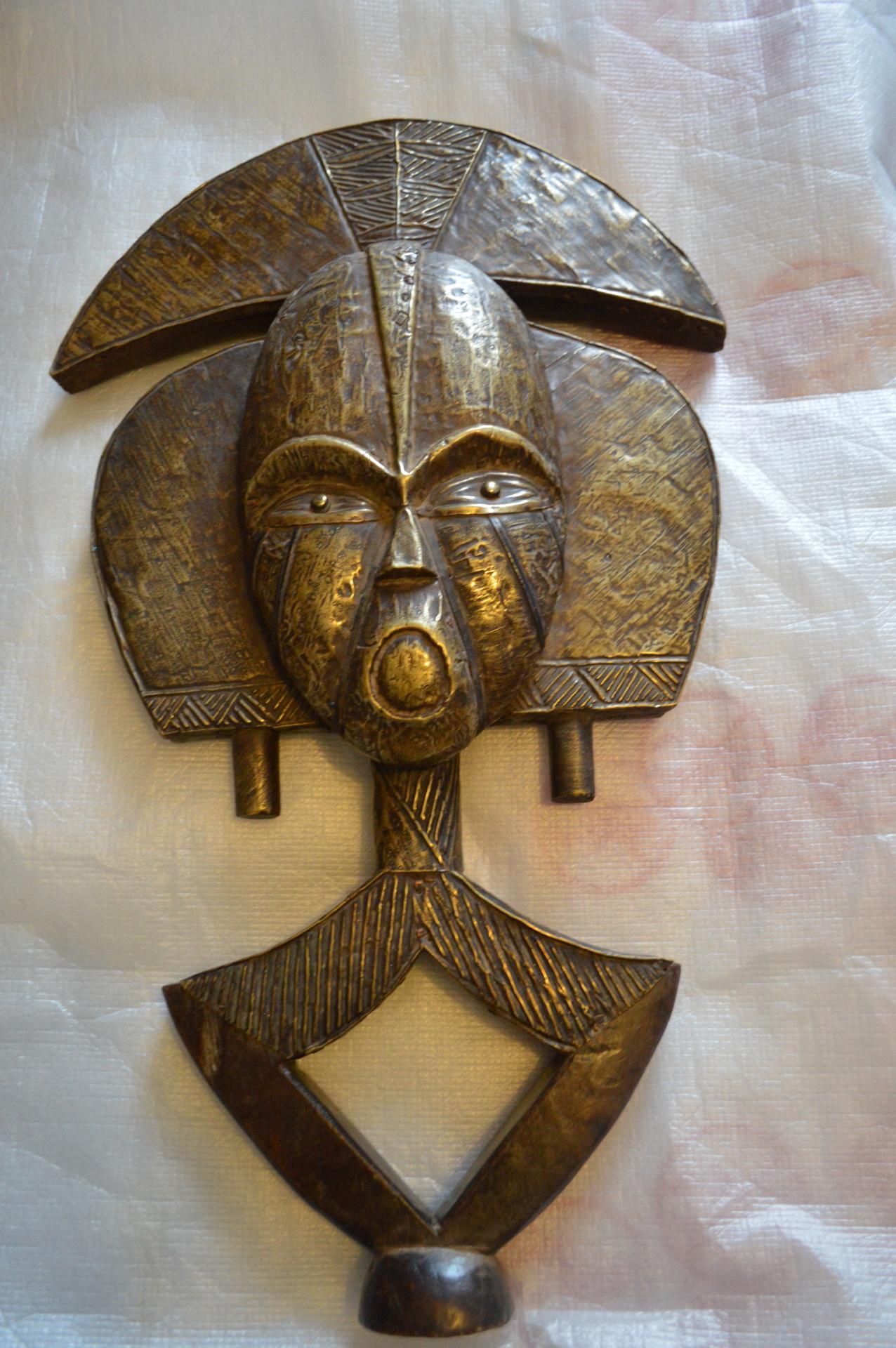 Kota Reliquary Figure Gabon