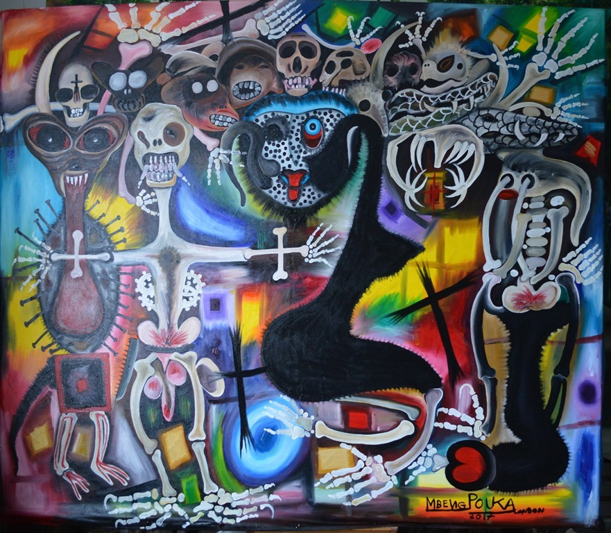 The Prophecy of the Dry Bones  210 x 175 cm - oil on canvas