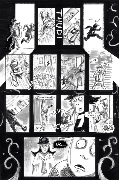 Gwendolyn, Issue 1 page 3