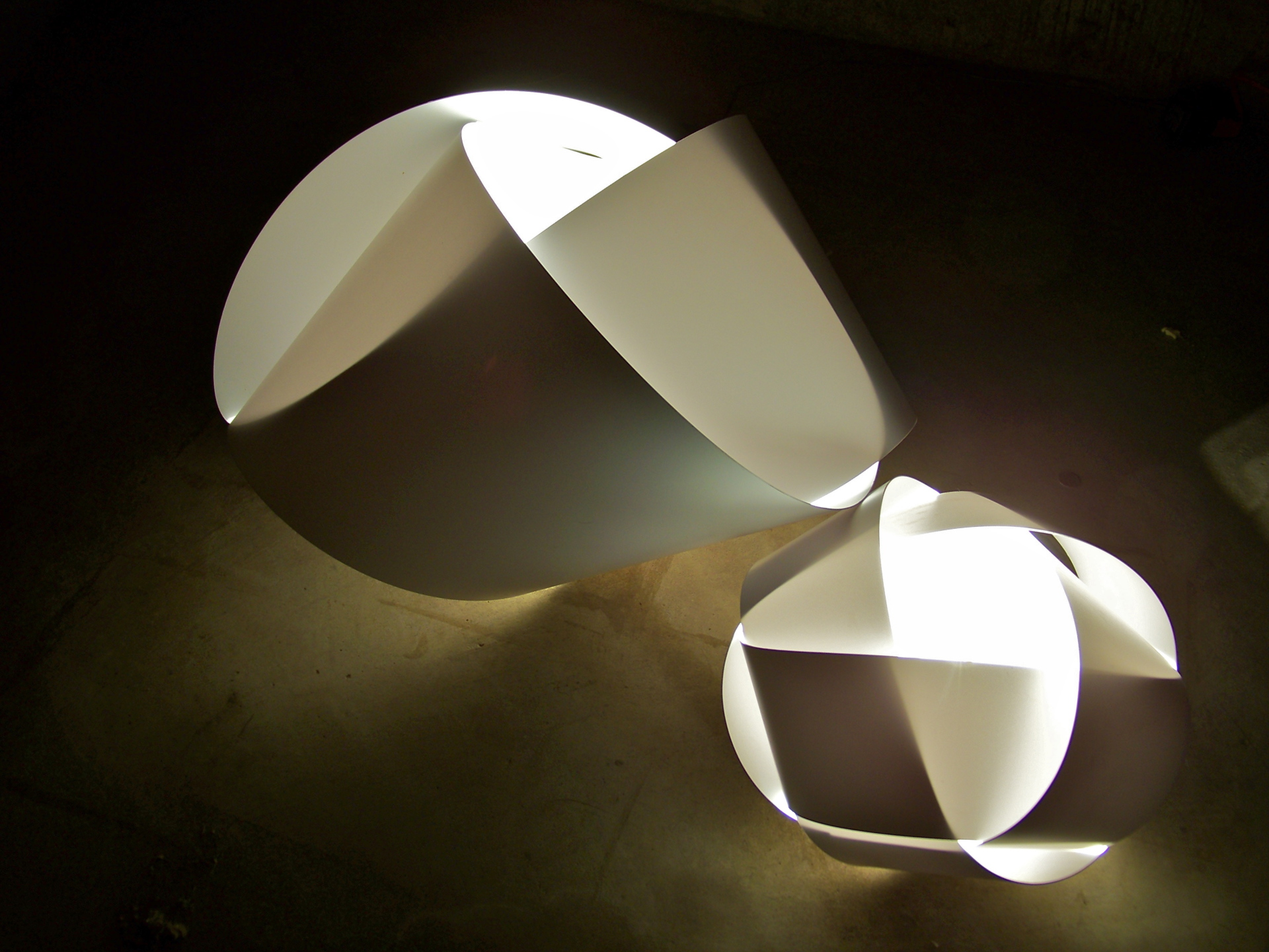 LED Knot Lamps