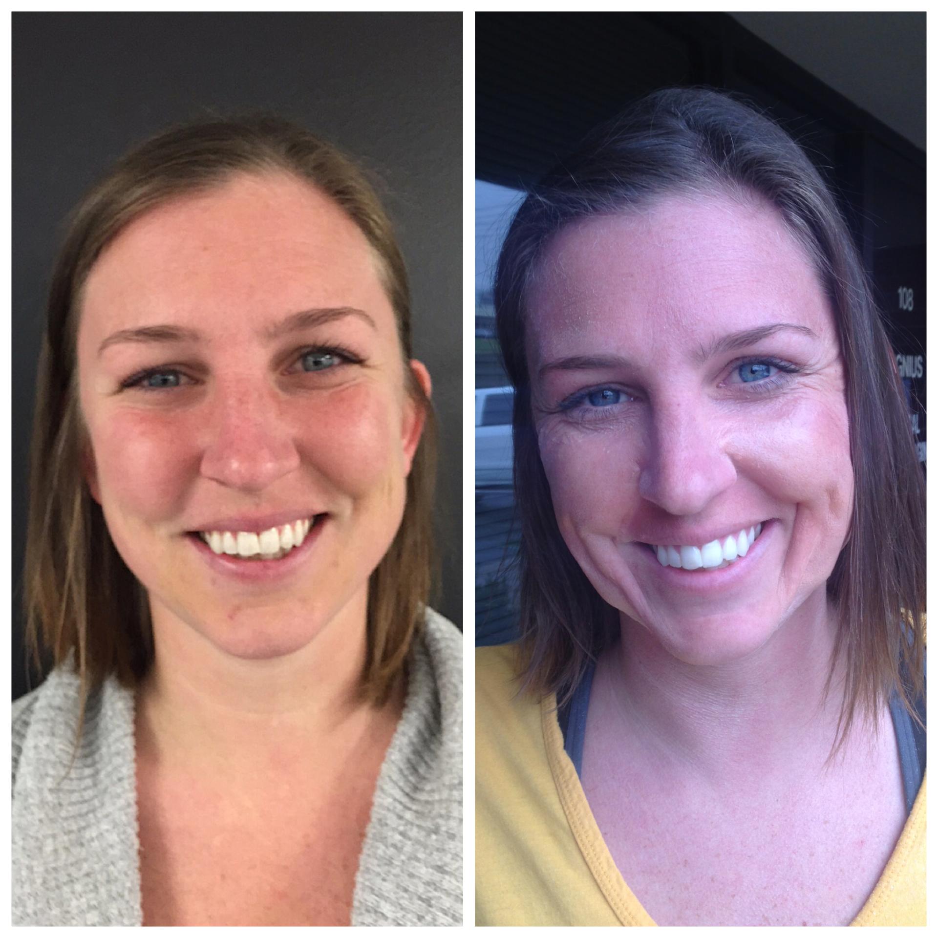 Minimal age makeup (33 yrs old-55 yrs old)