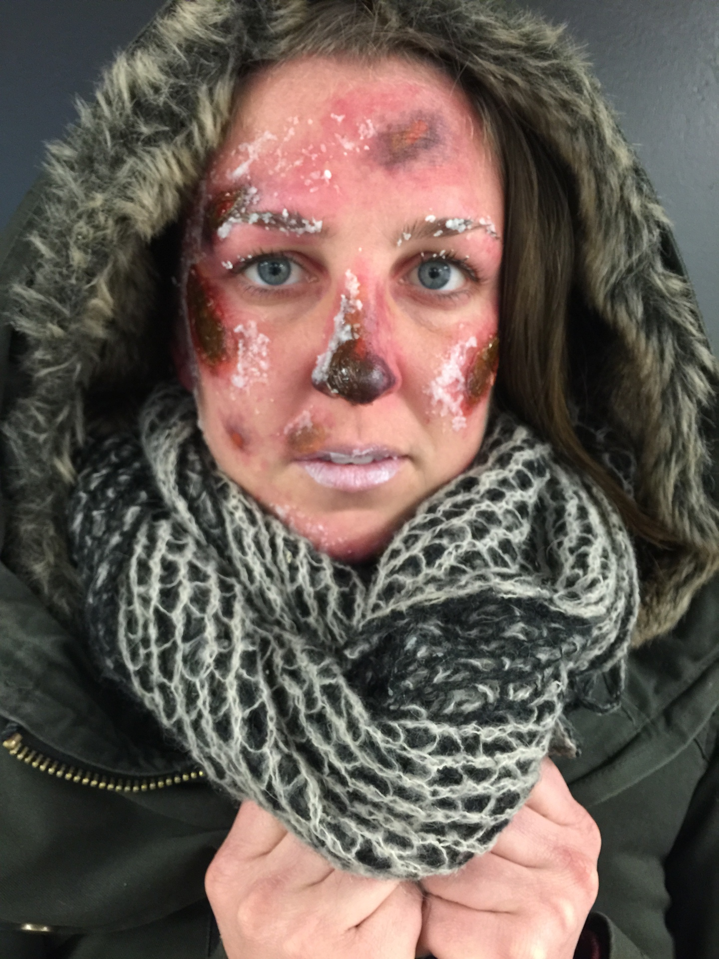 Frost Bite Makeup