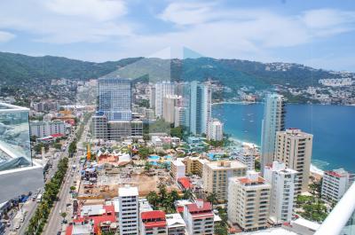Vista aerea de Acapulco renta casa en acapulco