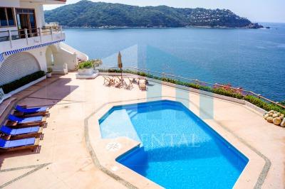 Casa Pleamar Ancla Renta de casa por dia en Acapulco