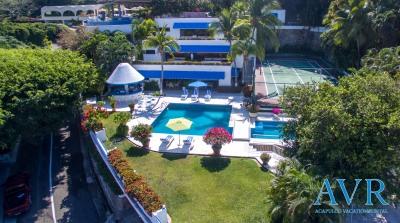 Casa Cristal en Las Brisas- Renta por dia o semana en Acapulco
