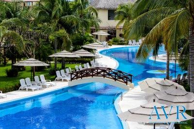 Alberca de Casa Terrasol en Diamante Acapulco