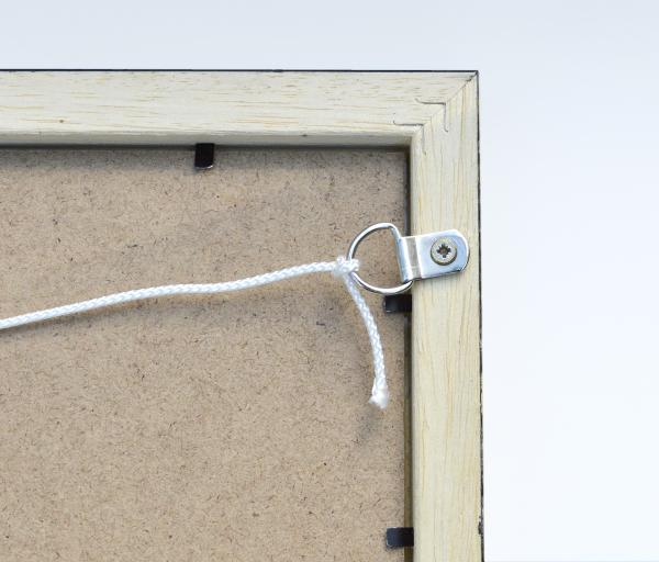 Reverse of frame detail
