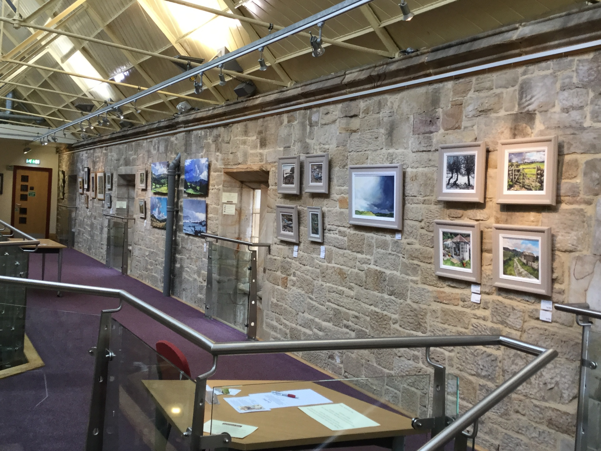Exhibition at The Station, Richmond 2018