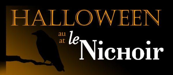Halloween at le Nichoir