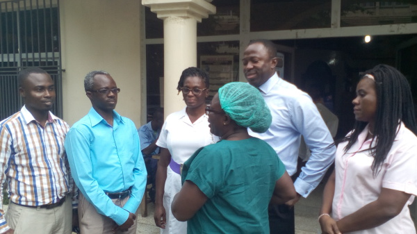 Ghana Pentecostal and Charismatic Council (GPCC) Donates To the Centre