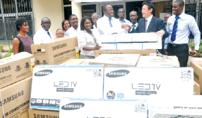 TOYOTA GHANA DONATES TO PLASTIC SURGERY AND BURNS