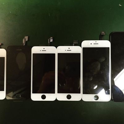 What due to the Price Increase in iPhone LCD Price?