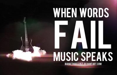 When Words Fail Music Speakes