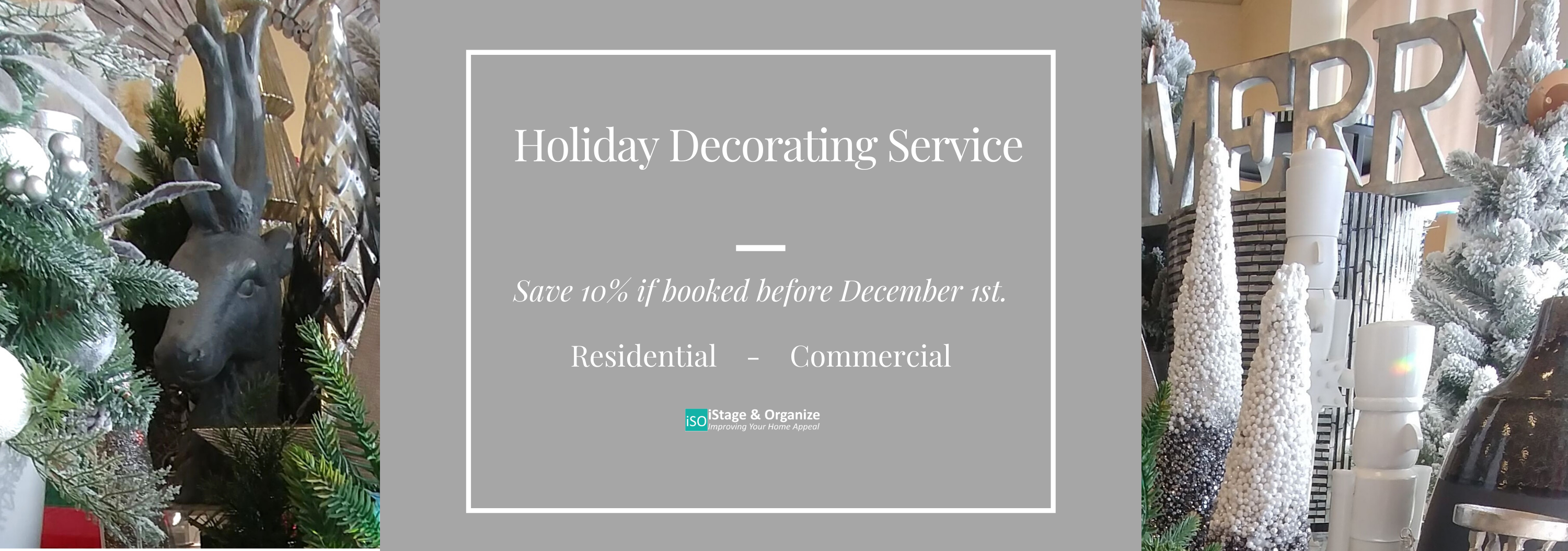 holiday decorating service