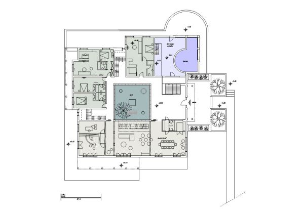 Villa according to Vastu priciples