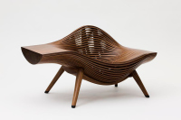 Steam 11, Bae Se Hwa, chair, walnut