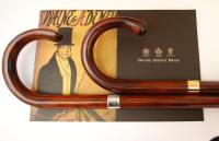 polished cherry walking stick, swayne adeney brigg, classic luggage