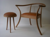 harry corder, mediotation chair, marcher furniture