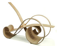 nautilus chair, jesse shaw, curves, spiral furniture