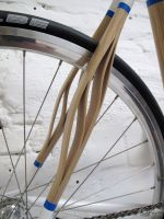 wooden bike, panda bikes