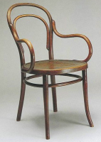 thonet chair, thonet, bentwood