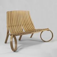 tom raffield, loop bench, organic, oak