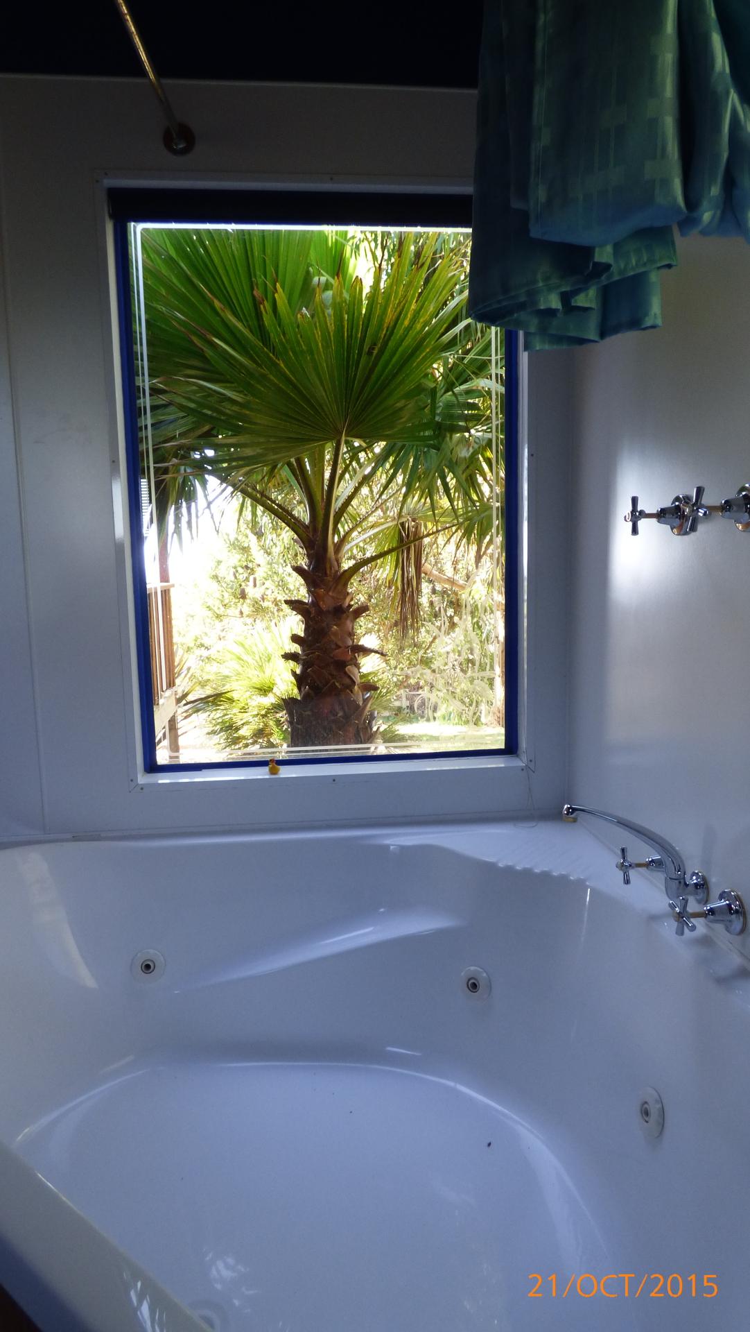 Spa Bath in Cabin