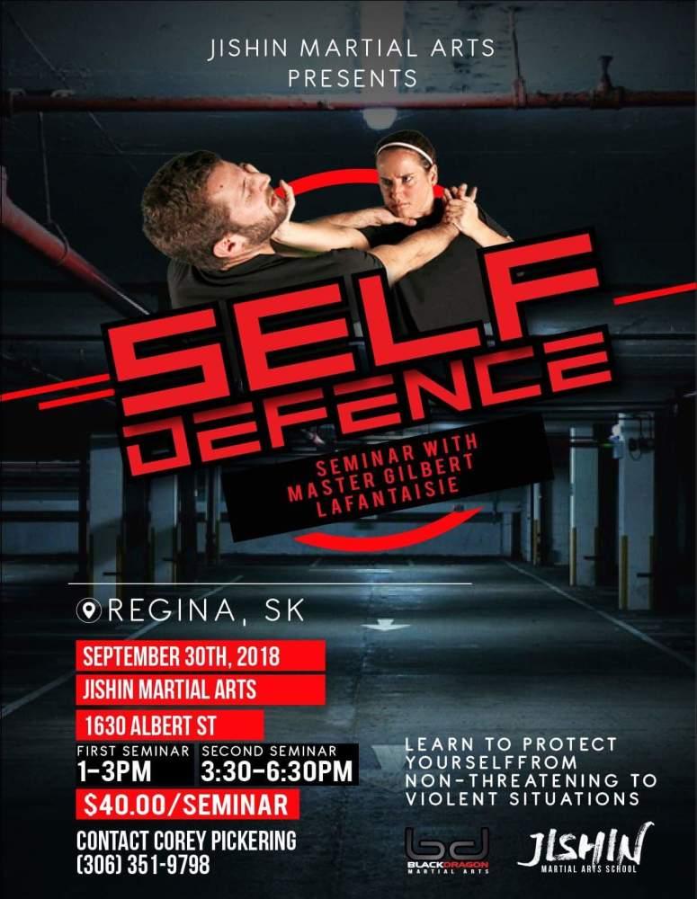 Self Defense with Mastert Gilbert Sept 29,2018