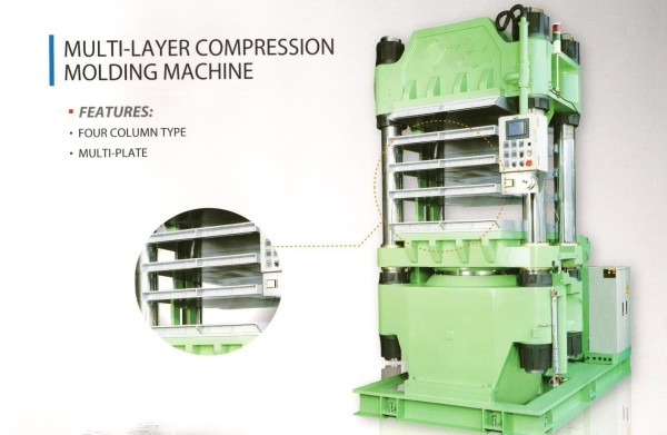 new hydraulic presses, compression molding machine