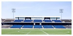 Stadium View from Berm