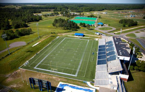 Side Shot of Sportsplex