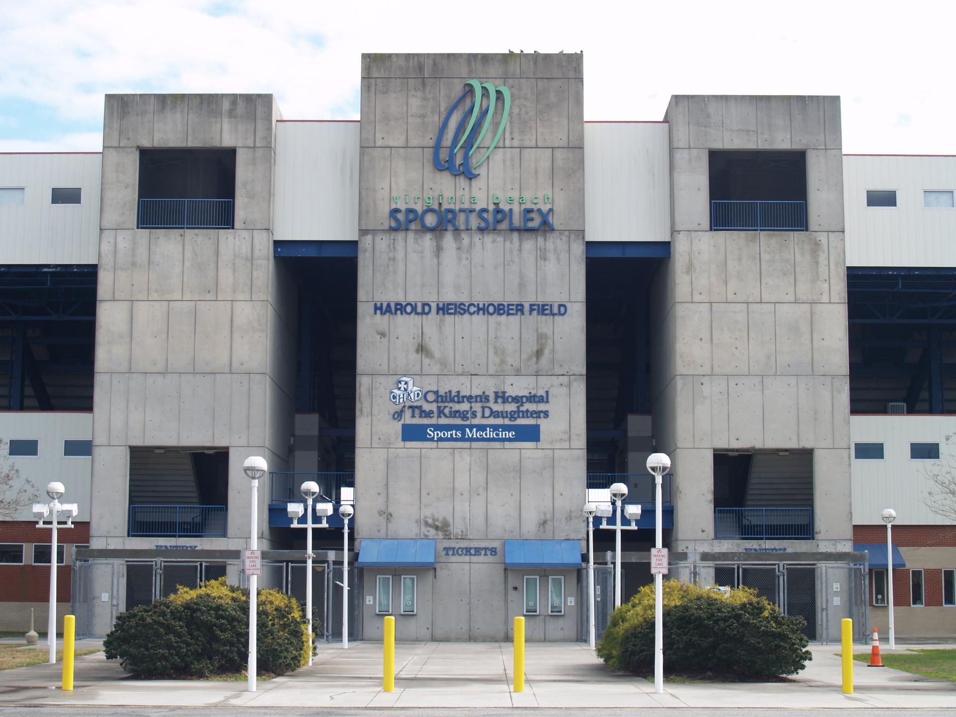 Sportsplex Entrance Road