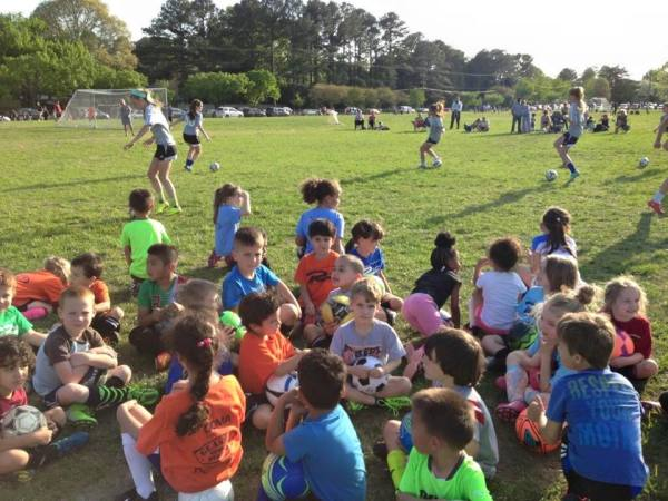 Rush Youth Soccer- Every SAT.