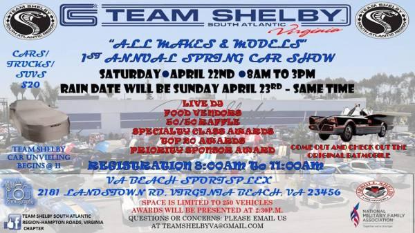 Team Shelby Car Show