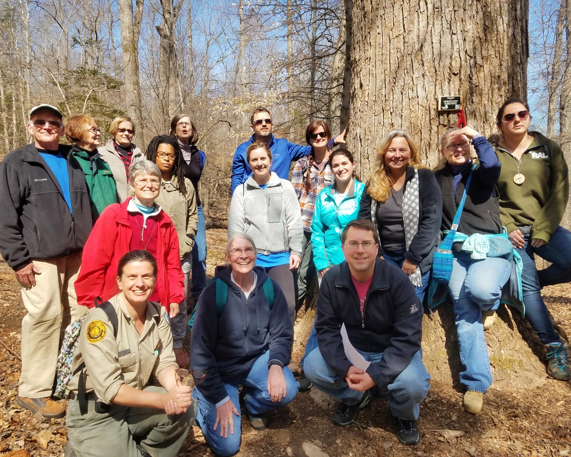 Class of 2017 Dendrology Field Trip