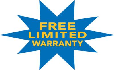 Free limited warranty