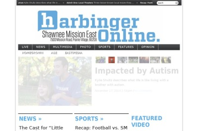 The Harbinger Online features Cole Conderman