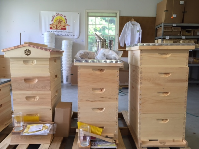 Loudoun Beekeeping Company is open for business!